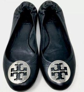 Tory Burch Reva Flats Women's Black 7
